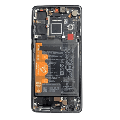Huawei P30 LCD & Digitizer Black with Frame and Battery
