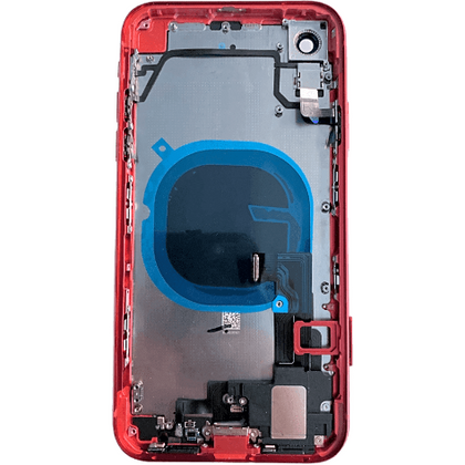 Replacement iPhone XR Housing with Small Parts Black (Red) - Best Cell Phone Parts Distributor in Canada