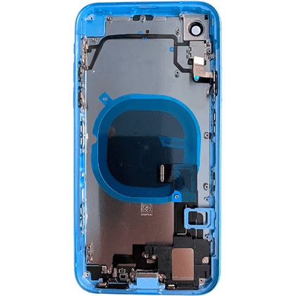 Replacement iPhone XR Housing with Small Parts Black (Blue) - Best Cell Phone Parts Distributor in Canada
