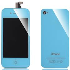 Replacement iPhone 4 Color Kit Baby Blue