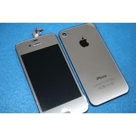 iPhone 4 Color Kit Silver Plated - Cell Phone Parts Canada