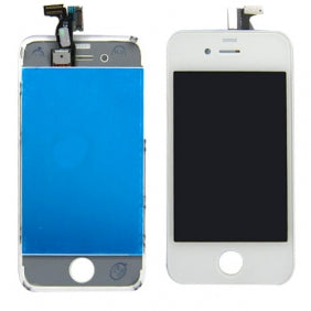 iPhone 4 LCD Refurbished Screen White - Best Cell Phone Parts Distributor in Canada