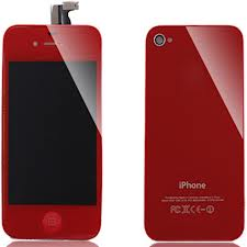 iPhone 4S Color Kit Red - Cell Phone Parts Canada
