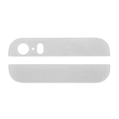 iPhone 5s Back Glass Cover Top & Bottom White - Cell Phone Parts Canada