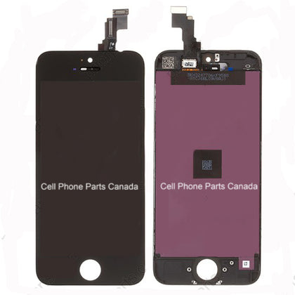 iPhone 5S LCD+Digitizer Black AAA Quality - Cell Phone Parts Canada
