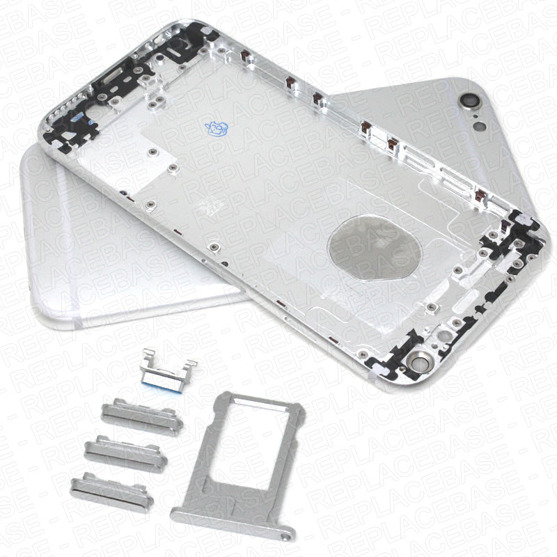 Replacement  Back Housing  Compatible With iPhone 6- Silver