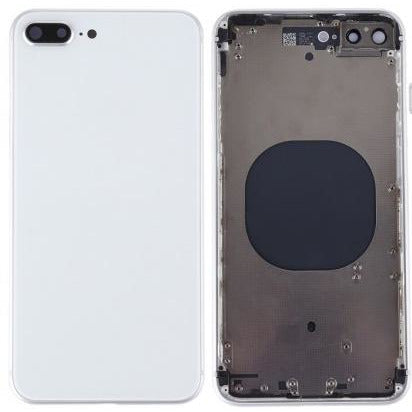 Housing Back with small parts Compatible With iPhone 8 - White