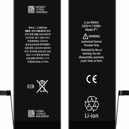 Apple iPhone 7 Replacement Battery - Cell Phone Parts Canada