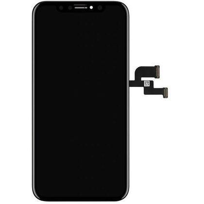 iPhone XS LCD & Digitizer ( SOFT OLED) Black - Cell Phone Parts Canada