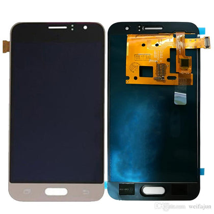 Samsung J1 LCD Assembly White SM-J120 (2016) - Best Cell Phone Parts Distributor in Canada