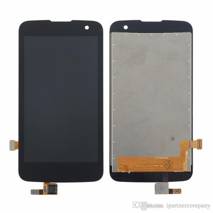 LG K4 (K120) LCD with Frame Black - Best Cell Phone Parts Distributor in Canada