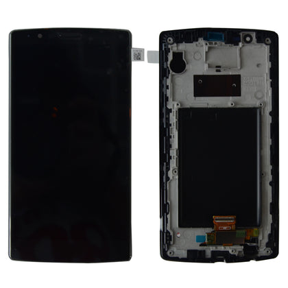 LG G4 LCD Assembly Black with Frame - Best Cell Phone Parts Distributor in Canada