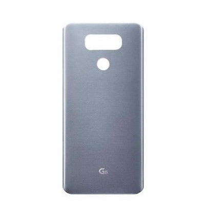 LG G6 Back Cover Platinum