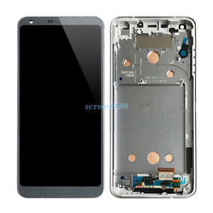 LG G6 LCD & Digitizer with Frame Platinum Silver (H873)