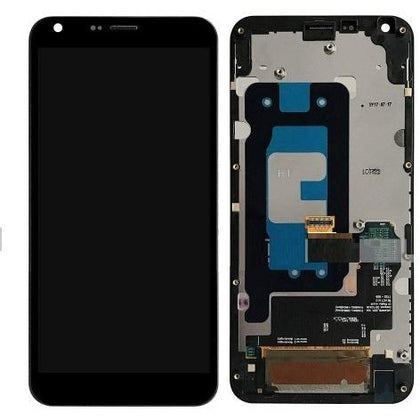 LG Q6 LCD & Digitizer Black with Frame (M700) - Cell Phone Parts Canada
