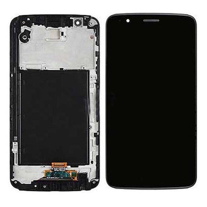 LG Stylo 3 Plus LCD & Digitizer Black with Frame (M470) - Cell Phone Parts Canada