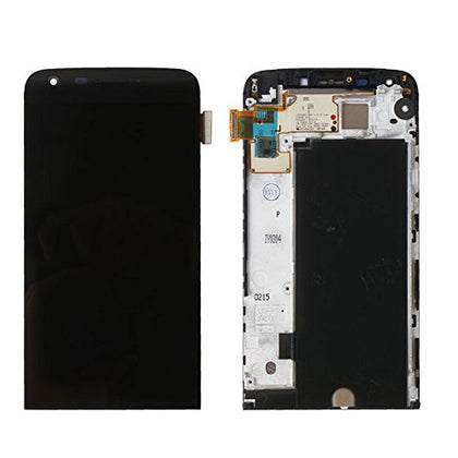 LG G5 LCD Assembly with Frame Black - Cell Phone Parts Canada