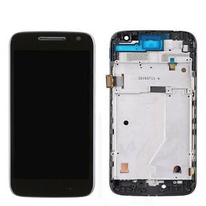 Moto G4 Play (XT 1601) LCD & Digitizer with Frame Black - Cell Phone Parts Canada