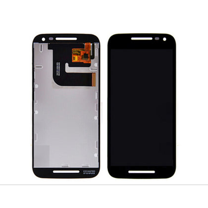 Motorola Moto G3 (XT1540) LCD Assembly with Frame Black - Cell Phone Parts Canada