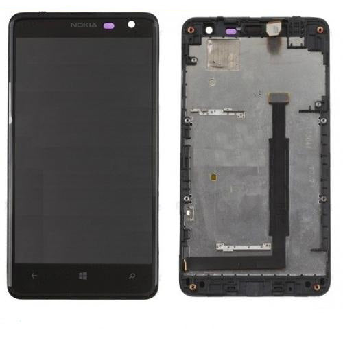 Nokia Lumia 625 LCD+Digitizer with Frame