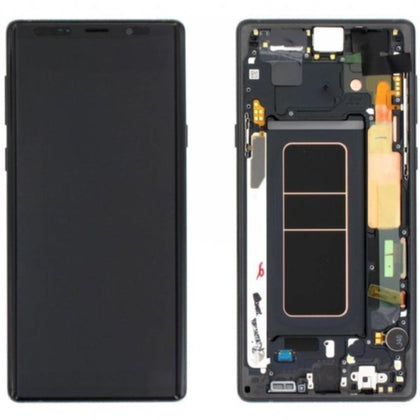 Samsung Note 9 LCD assembly Black with Frame AAA Quality