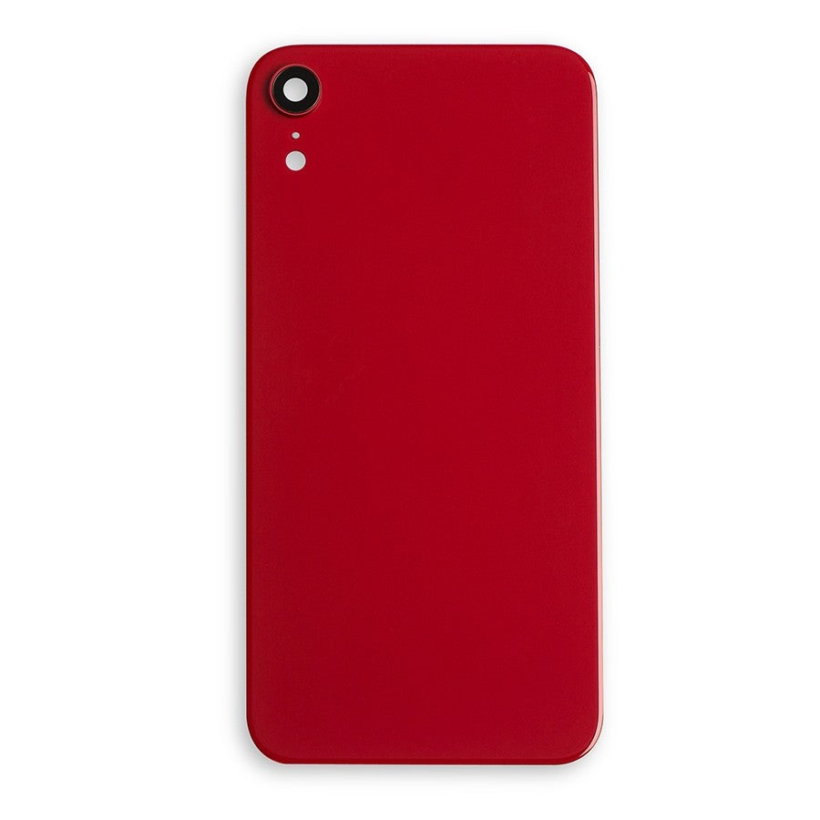 REPLACEMENT BACK Cover GLASS WITH LARGER CAMERA HOLE Compatible with iPhone XR - Red