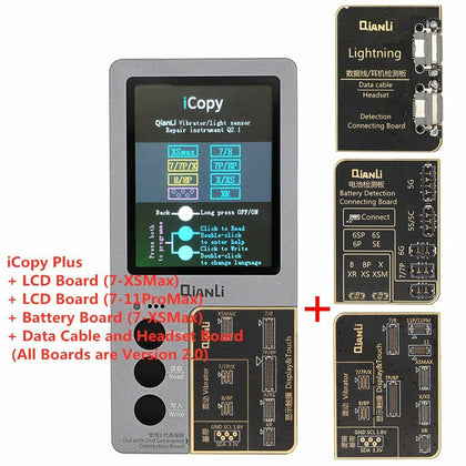 QianLi iCopy Plus-3 LCD Programmer / Repair Instrument with three boards