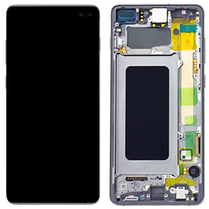 Replacement LCD & Digitizer for Samsung S10 Plus with Black Frame - Best Cell Phone Parts Distributor in Canada