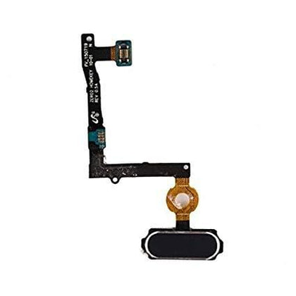 Samsung S6 Edge Plus Home Button with Flex Black - Cell Phone Parts Canada
