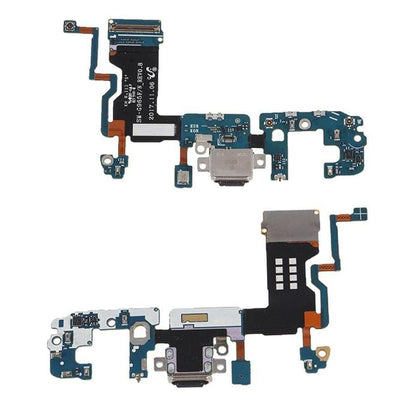 Samsung S9 Plus Charge Port Flex Black (G965U) - Best Cell Phone Parts Distributor in Canada