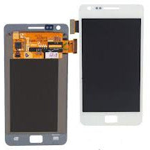 Samsung S2 i9100 LCD with Digitizer White