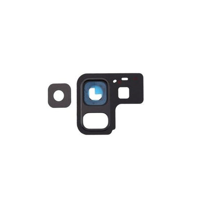 Samsung A8 Camera Lens with Frame Black - Cell Phone Parts Canada