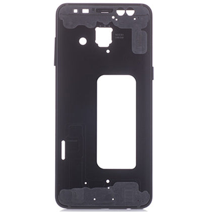 Samsung A8 Middle Frame Black - Cell Phone Parts Canada