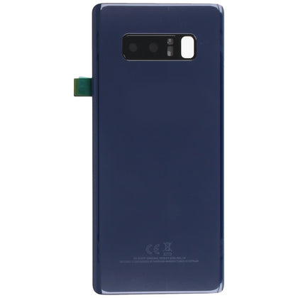 Samsung Note 8 Back Cover with Camera Lens Blue - Cell Phone Parts Canada