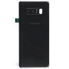 Samsung Note 8 Back Cover with Camera Lens Black
