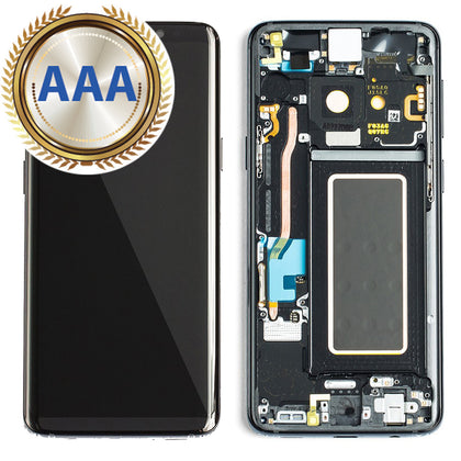 Replacement LCD & Digitizer for Samsung S9 with Frame Grey (AAA Quality) - Best Cell Phone Parts Distributor in Canada