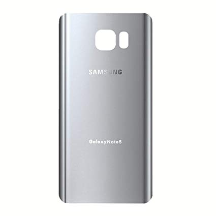Samsung Note 5 Back Cover Silver