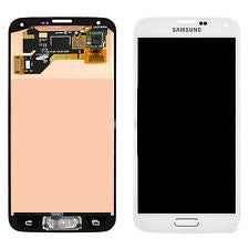 Samsung S5 LCD with Digitizer white - Best Cell Phone Parts Distributor in Canada