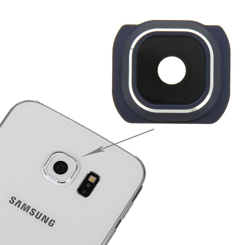 Samsung S6 Edge Back Camera Lens Blue