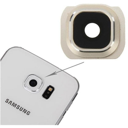 Samsung S6 Edge Back Camera Lens Gold - Best Cell Phone Parts Distributor in Canada