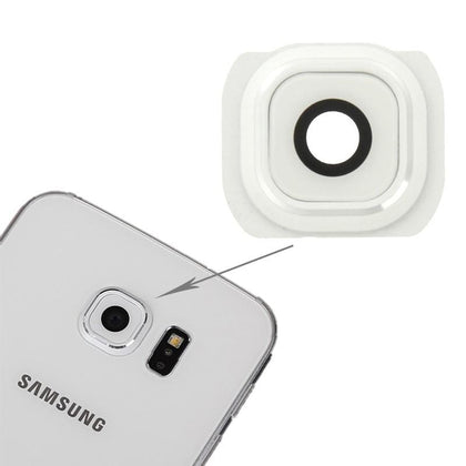 Samsung S6 Edge Back Camera Lens White - Best Cell Phone Parts Distributor in Canada