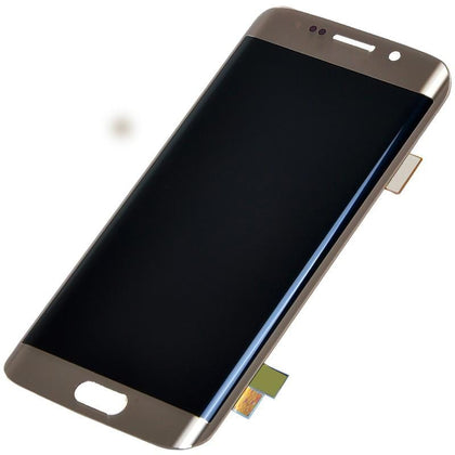 Samsung S6 Edge LCD Assembly Gold - Best Cell Phone Parts Distributor in Canada
