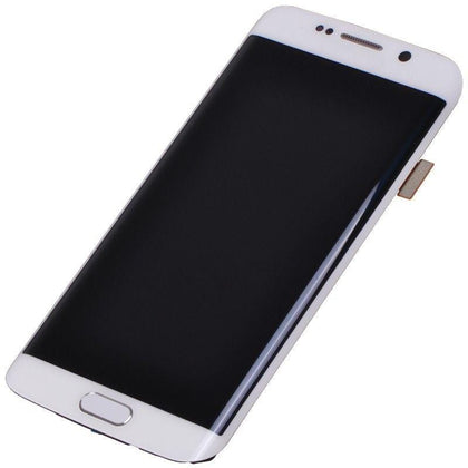 Samsung S6 Edge LCD Assembly White - Best Cell Phone Parts Distributor in Canada