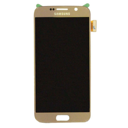 Samsung S6 LCD Assembly Gold with Frame - Best Cell Phone Parts Distributor in Canada