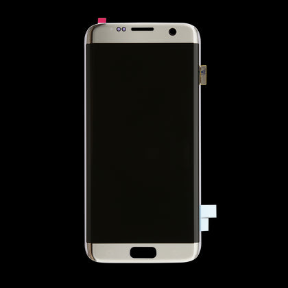 Replacement Samsung S7 Edge LCD Assembly Silver - Best Cell Phone Parts Distributor in Canada