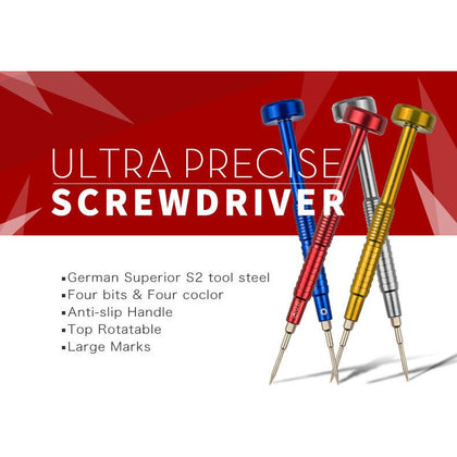 Ultra Precise Screwdrivers for Cell Phones Professional Repair