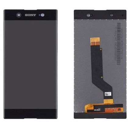 Sony XA1 LCD Assembly Black - Cell Phone Parts Canada