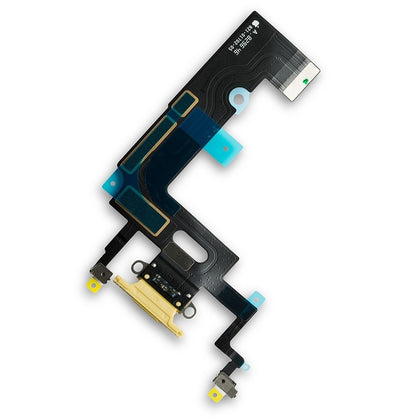 iPhone XR Charge Port Flex Yellow - Best Cell Phone Parts Distributor in Canada