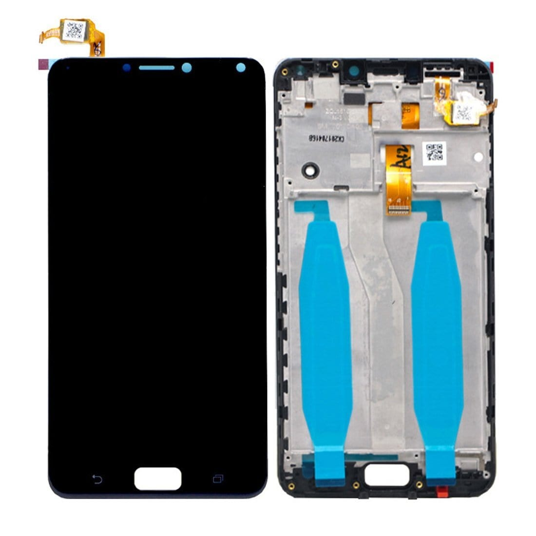 Asus ZenFone 4 Max (ZC554KL) LCD & Digitizer Black with Frame X00ID