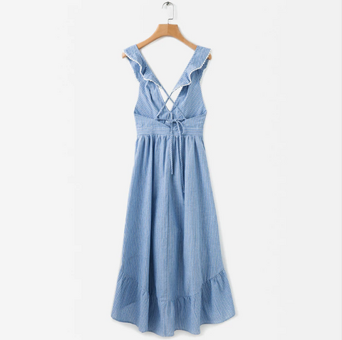 Luna Baby Blue Dress